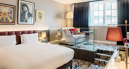 Accommodations:      The Trafalgar St. James London, Curio Collection by Hilton  in London