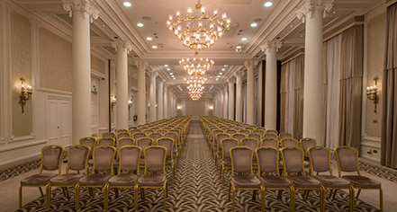 Meetings at      The Waldorf Hilton, London  in London