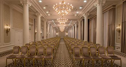 Meetings at      The Waldorf Hilton, London  in London