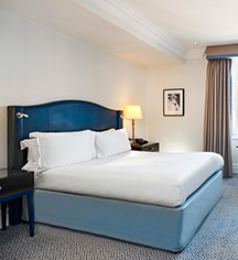 Accommodations:      The Waldorf Hilton, London  in London