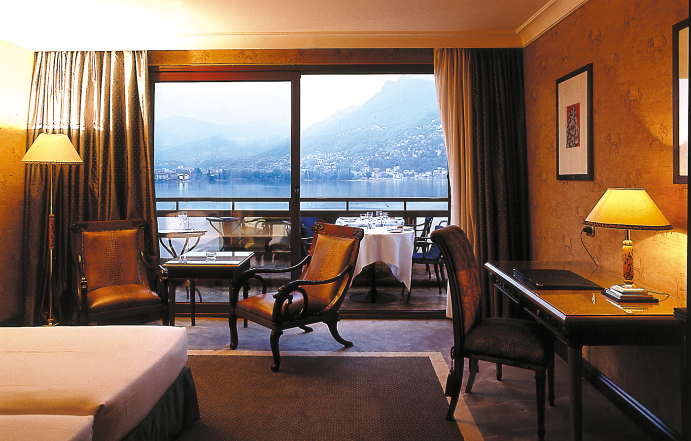 Accommodations:      Grand Hotel Eden  in Lugano