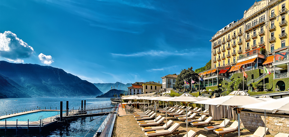 Grand Hotel Tremezzo, Italy, T Beach