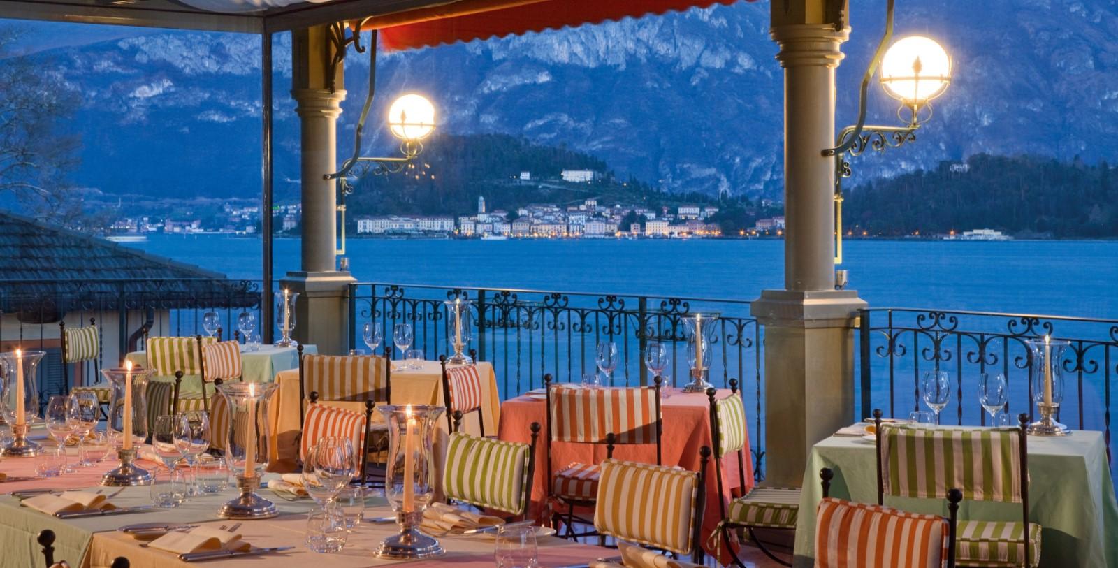 Image of La Terrazza Restaurant of the Grand Hotel Tremezzo in Tremezzo, Italy