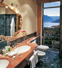 Accommodations:      Grand Hotel Tremezzo  in Lake Como Tremezzo