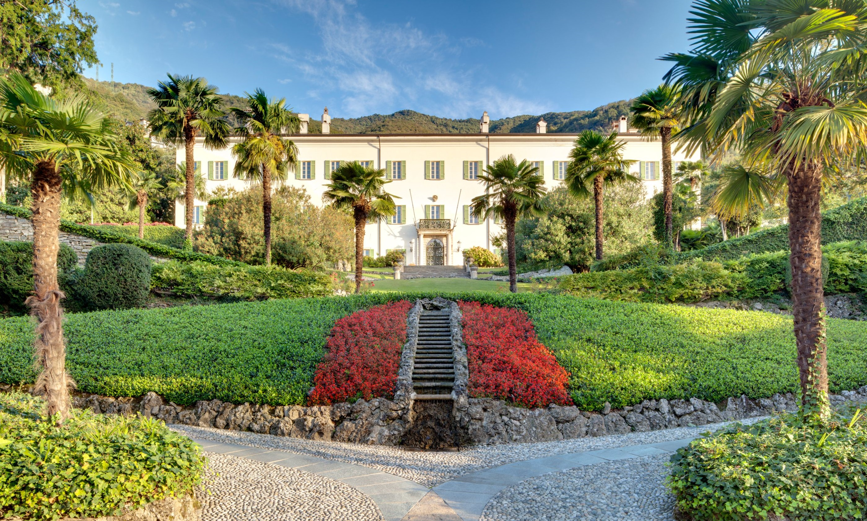 Discover this historic hotel's Art Nouveau architecture on the shores of Lake Como.