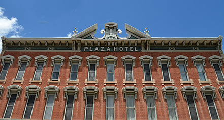 Plaza Hotel 1882  in Las Vegas