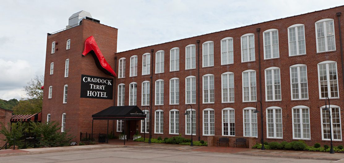 Special Offers:      The Craddock Terry Hotel  in Lynchburg