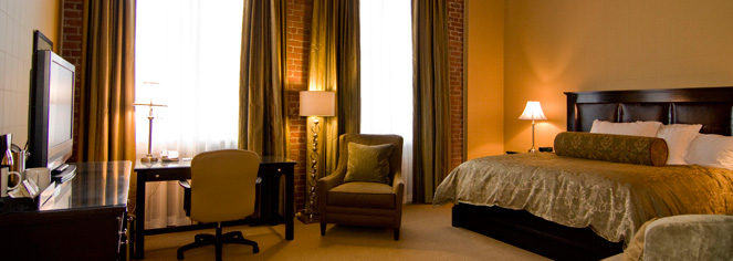 Accommodations:      The Craddock Terry Hotel  in Lynchburg