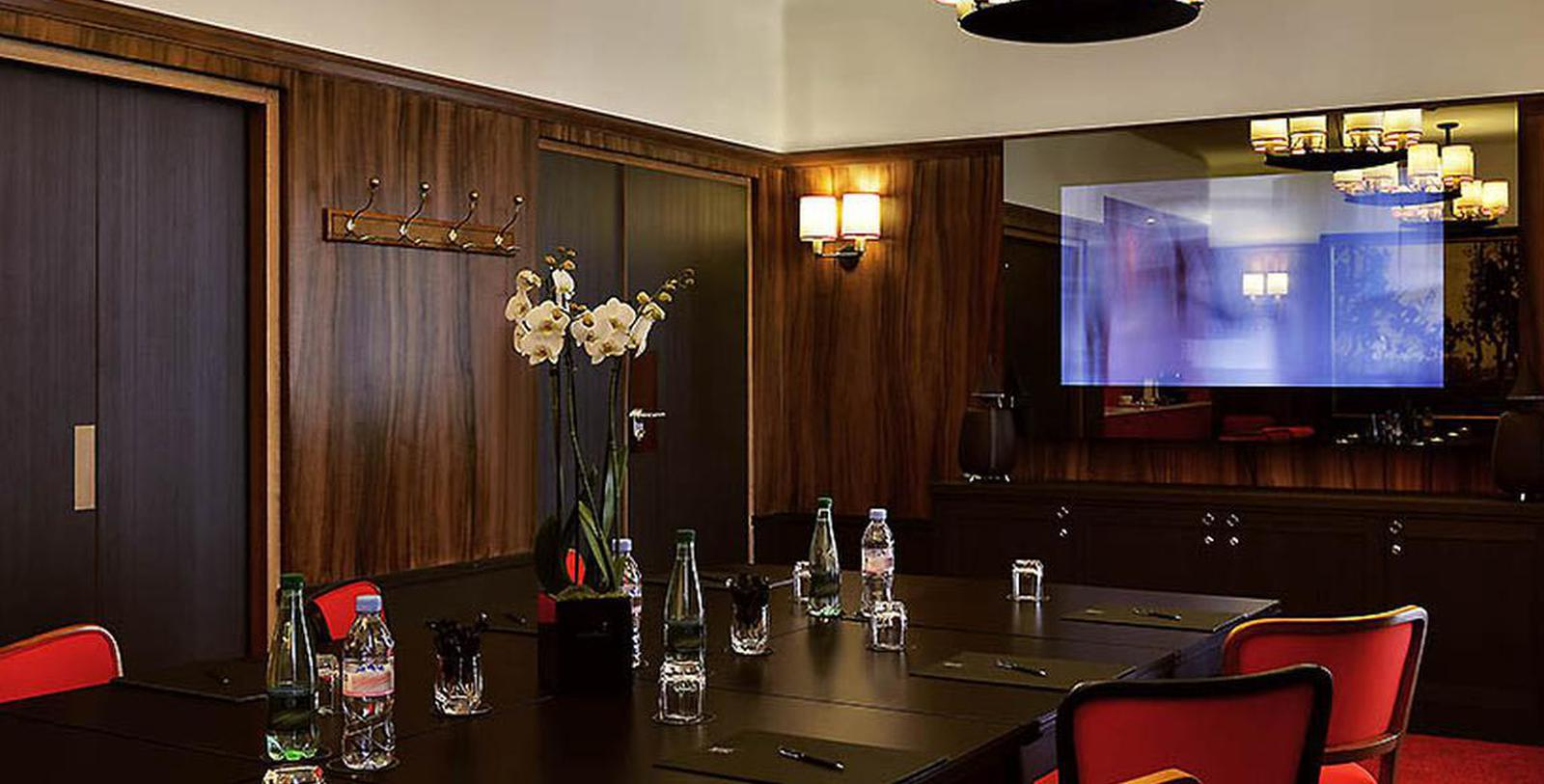 Image of Meeting Room Hotel Exterior Hôtel Carlton Lyon - MGallery by Sofitel, 1894, Member of Historic Hotels Worldwide, in Lyon, France, Experience
