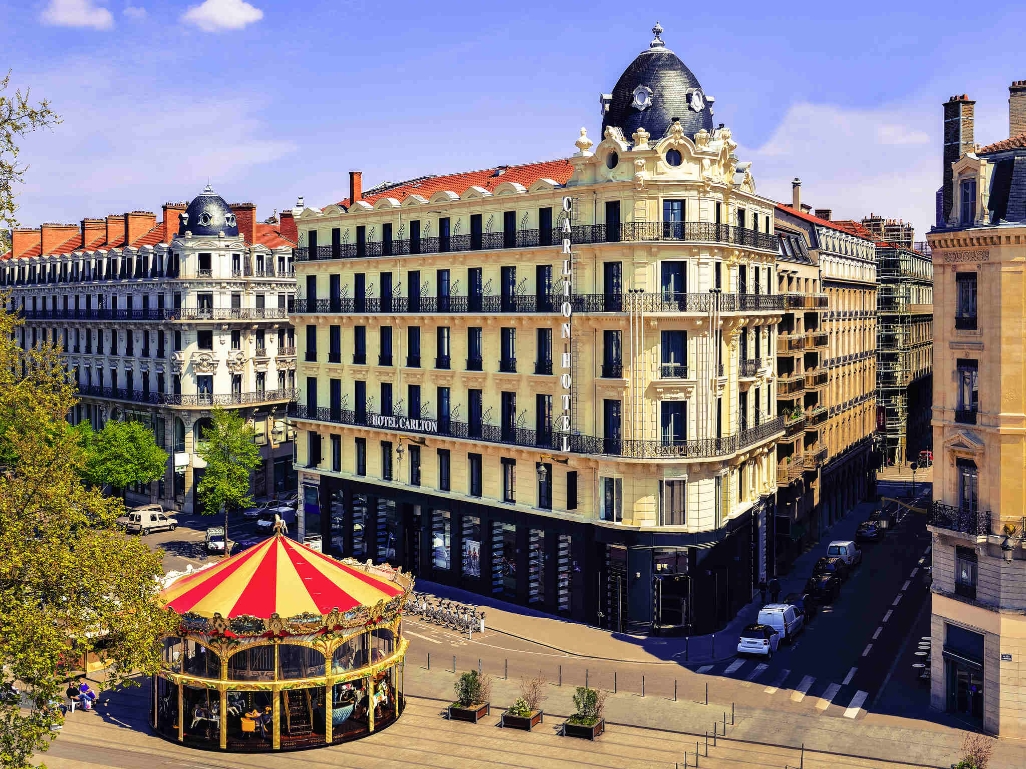 Image of Hotel Exterior Hôtel Carlton Lyon - MGallery by Sofitel, 1894, Member of Historic Hotels Worldwide, in Lyon, France, Overview