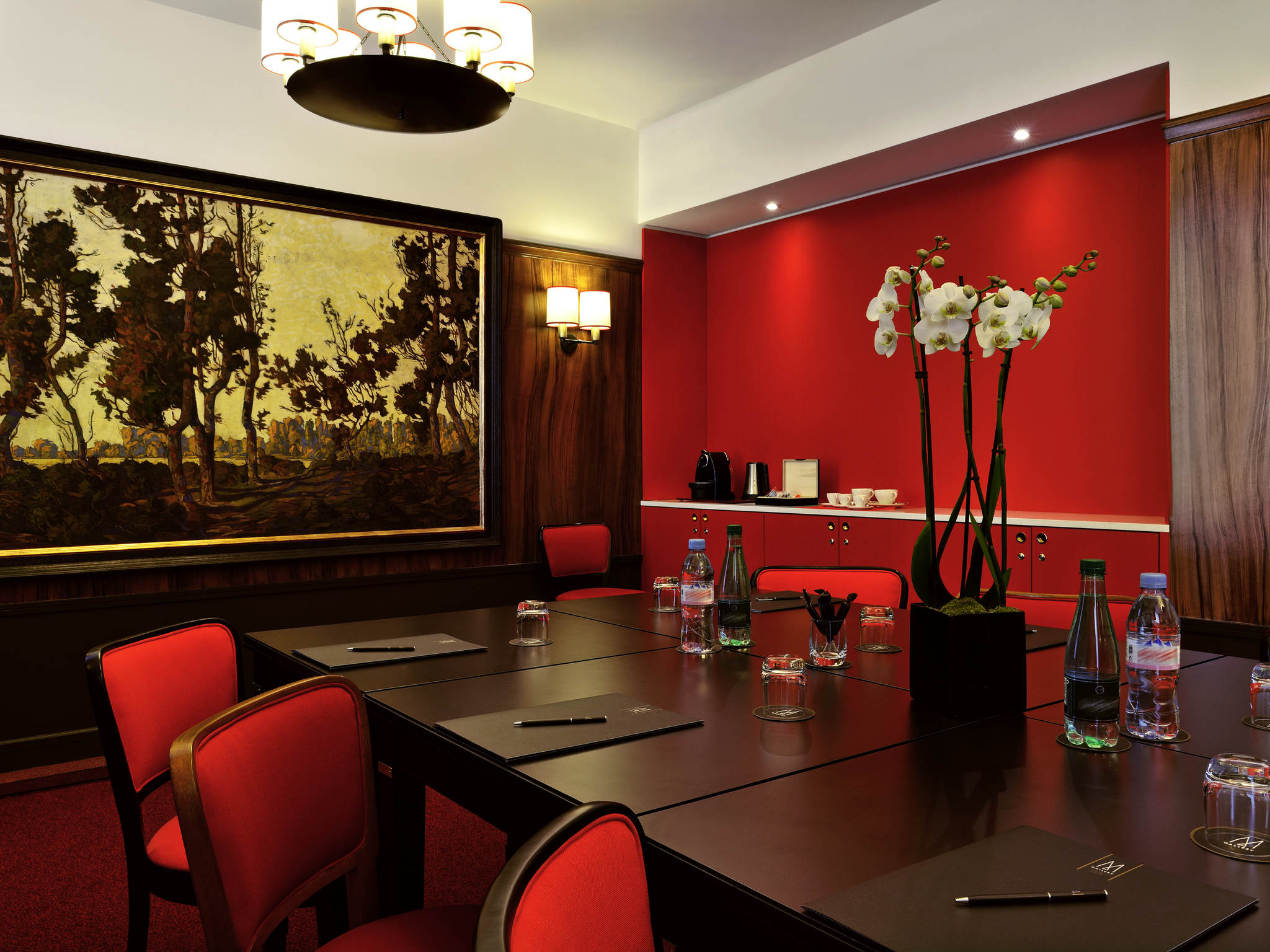 Image of Meeting Room Hôtel Carlton Lyon - MGallery by Sofitel, 1894, Member of Historic Hotels Worldwide, in Lyon, France, Request For Proposal
