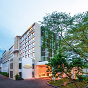 Book a stay with Feathers - A Radha Hotel in Chennai
