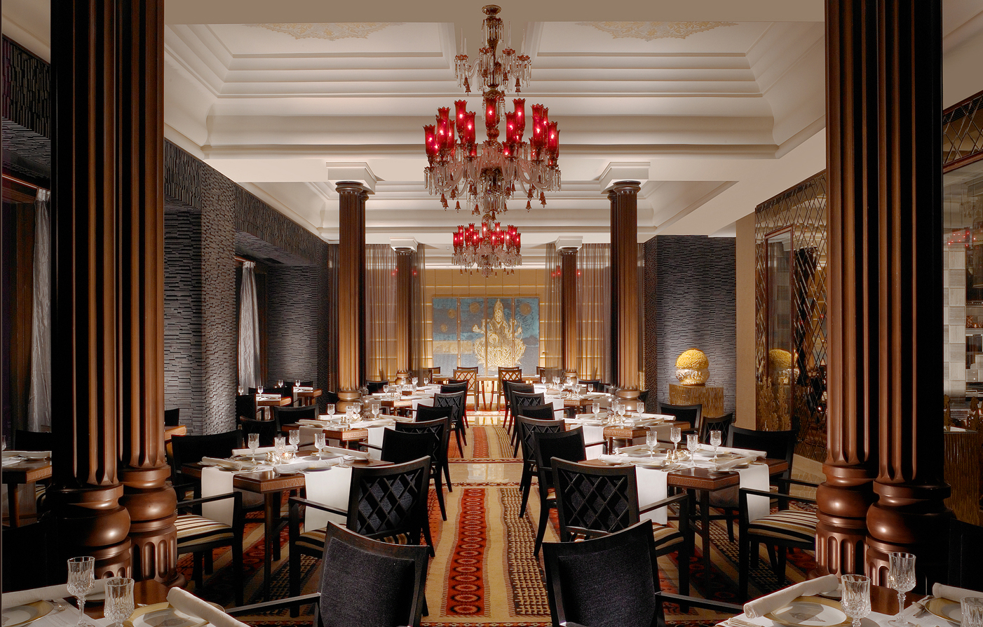 Dining:      The Leela Palace Chennai  in Chennai