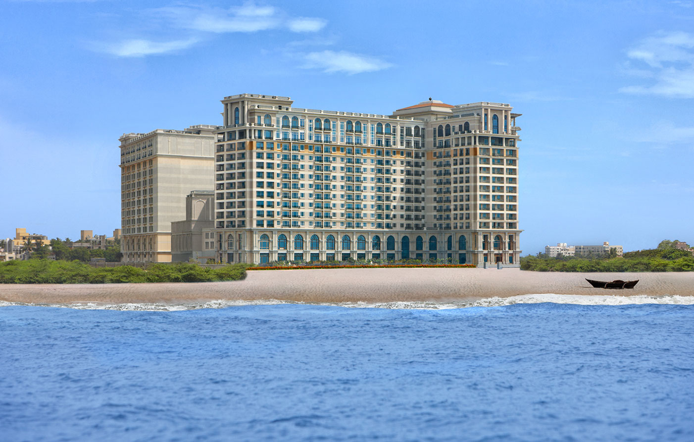 Accommodations:      The Leela Palace Chennai  in Chennai