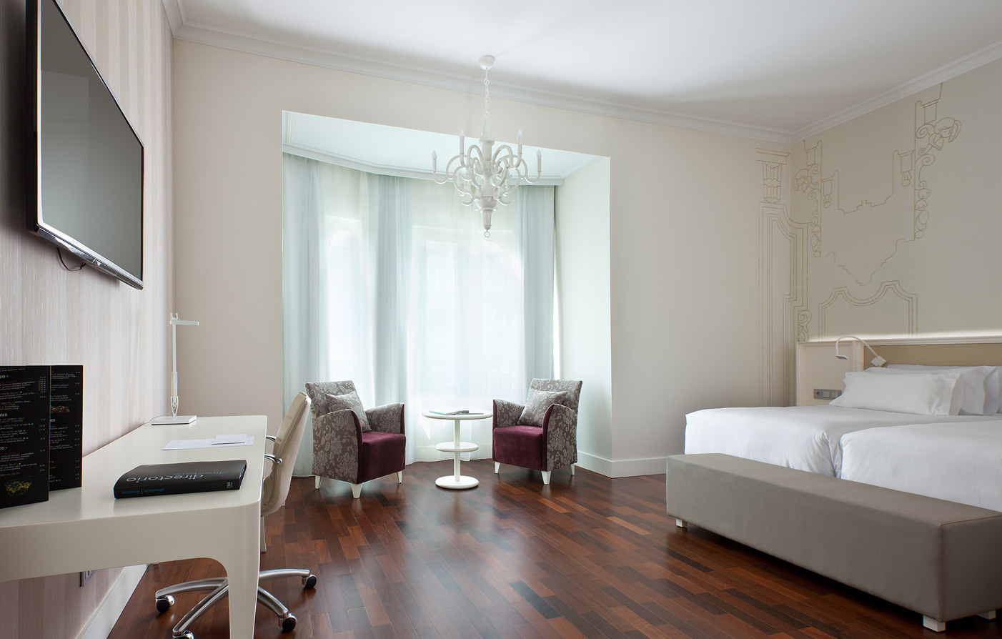 Accommodations:      NH Collection Madrid Abascal  in Madrid