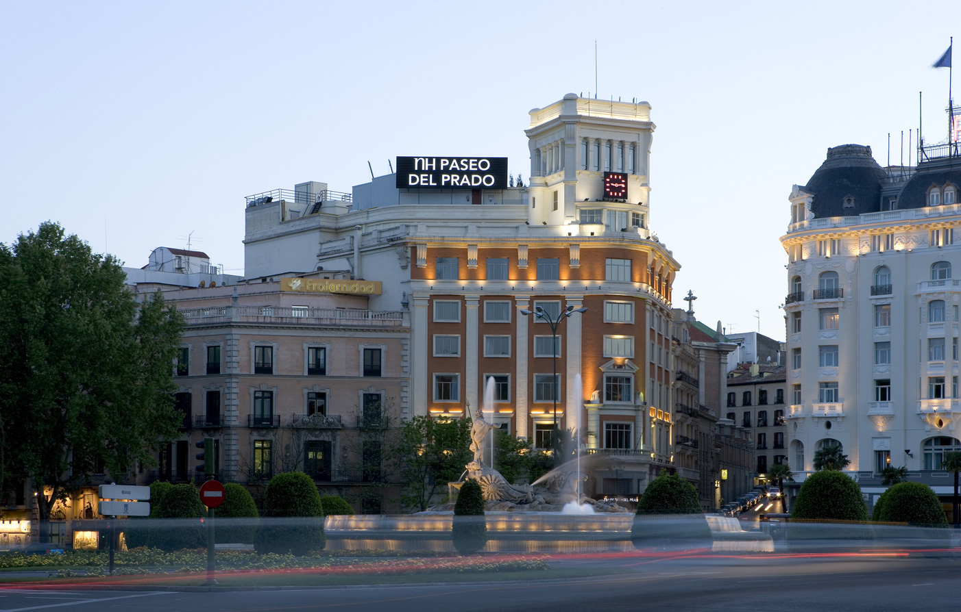 Four star hotel in madrid nh collection madrid paseo del for Hotels madrid