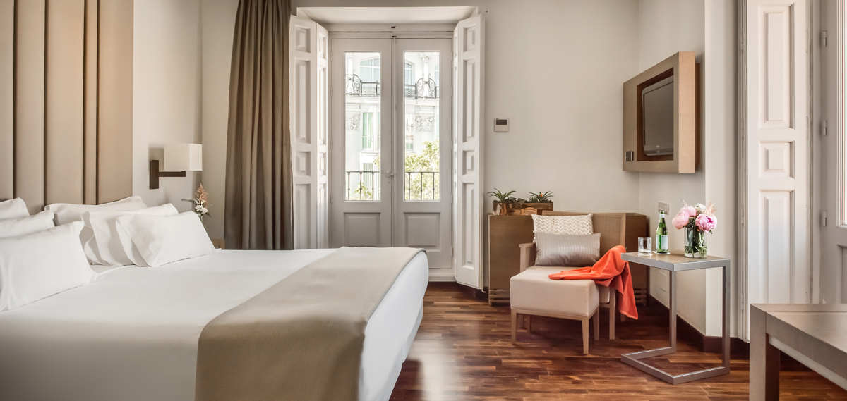 Accommodations:      NH Collection Madrid Palacio de Tepa  in Madrid