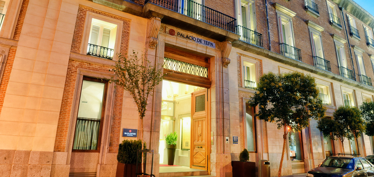 Nh Collection Madrid Palacio De Tepa Five Star Hotel In