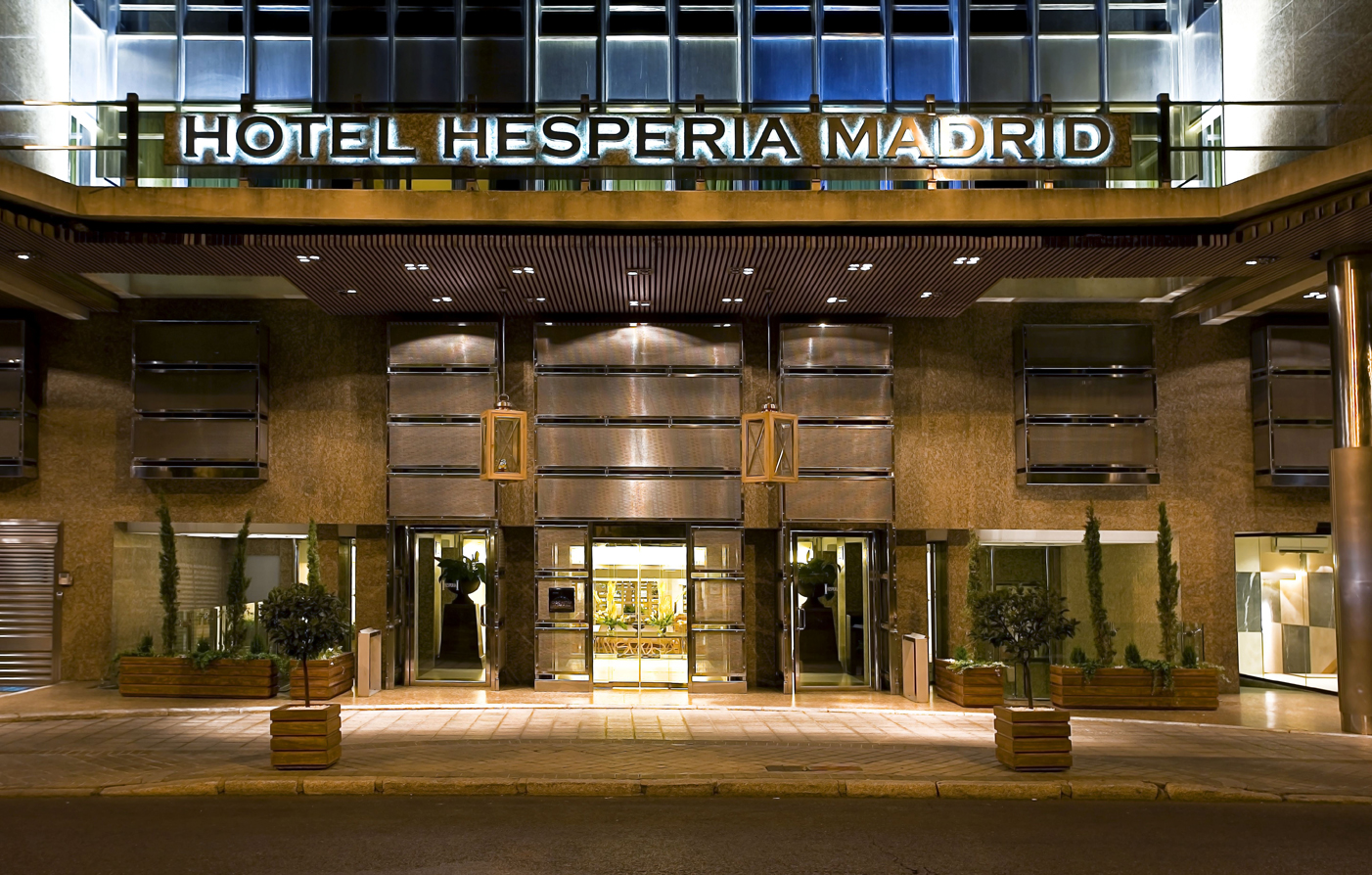 Luxury Madrid Hotel Hesperia Madrid Luxury Spain Hotels