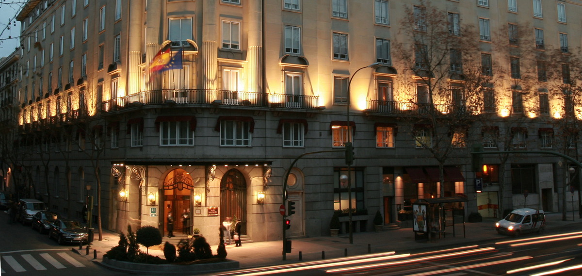 Hotel Wellington, Madrid Spain, Street View