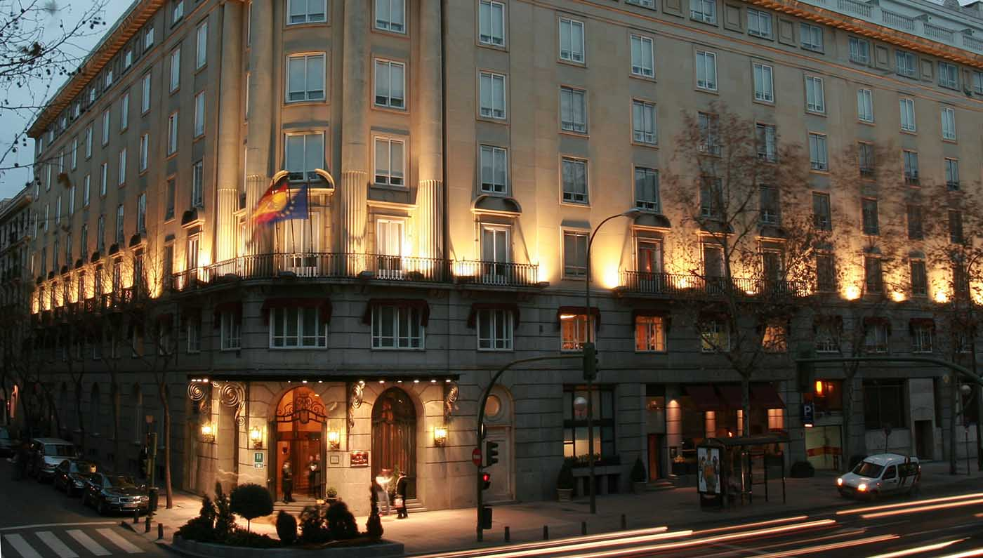 Accommodations:      Hotel Wellington  in Madrid