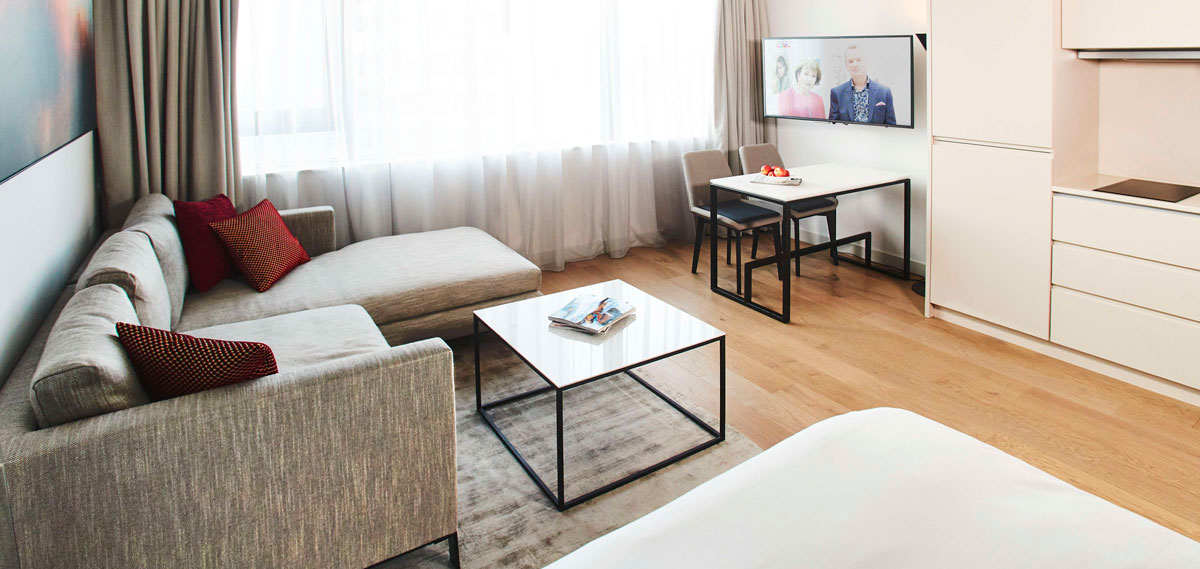Accommodations:      CitySuites Manchester  in Manchester