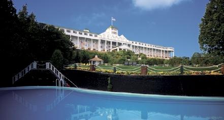 Activities:      Grand Hotel  in Mackinac Island