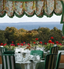 Dining at      Grand Hotel  in Mackinac Island