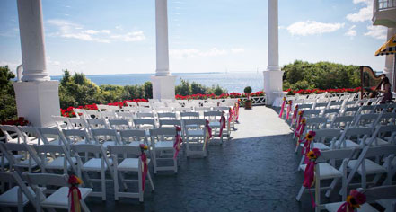 Weddings:      Grand Hotel  in Mackinac Island