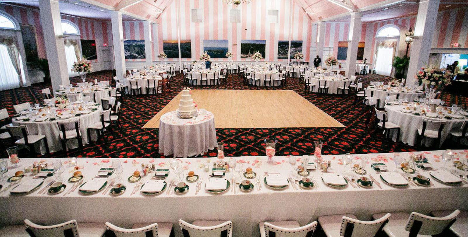 Image of wedding reception at Grand Hotel, 1887, Member of Historic Hotels of America, in Mackinac Island, Michigan, Experience