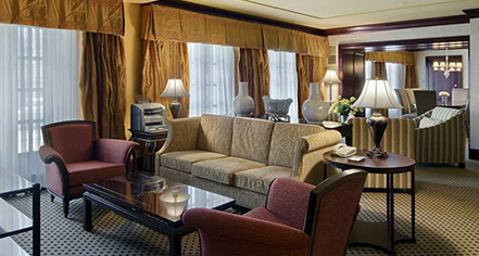 Accommodations:      Hilton President Kansas City  in Kansas City