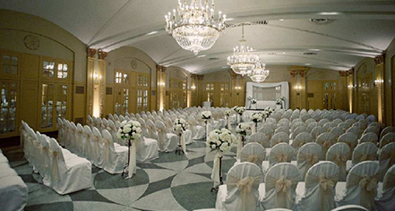 Weddings:      Hilton President Kansas City  in Kansas City