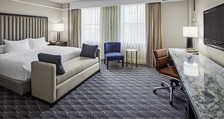 Accommodations:      Hilton President Kansas City  in Kansas City