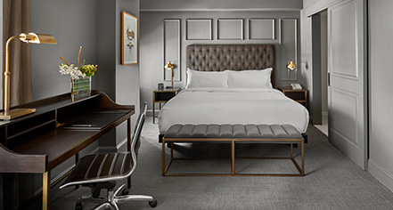 Accommodations:      Hotel Phillips Kansas City, Curio Collection by Hilton  in Kansas City