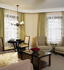 Accommodations:      The Raphael Hotel  in Kansas City