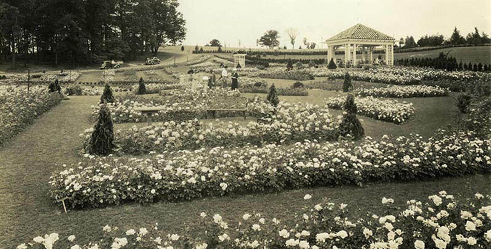 Historic Image of Garden The Hotel Hershey®, 1933, Member of Historic Hotels of America, in Hershey, Pennsylvania, Discover