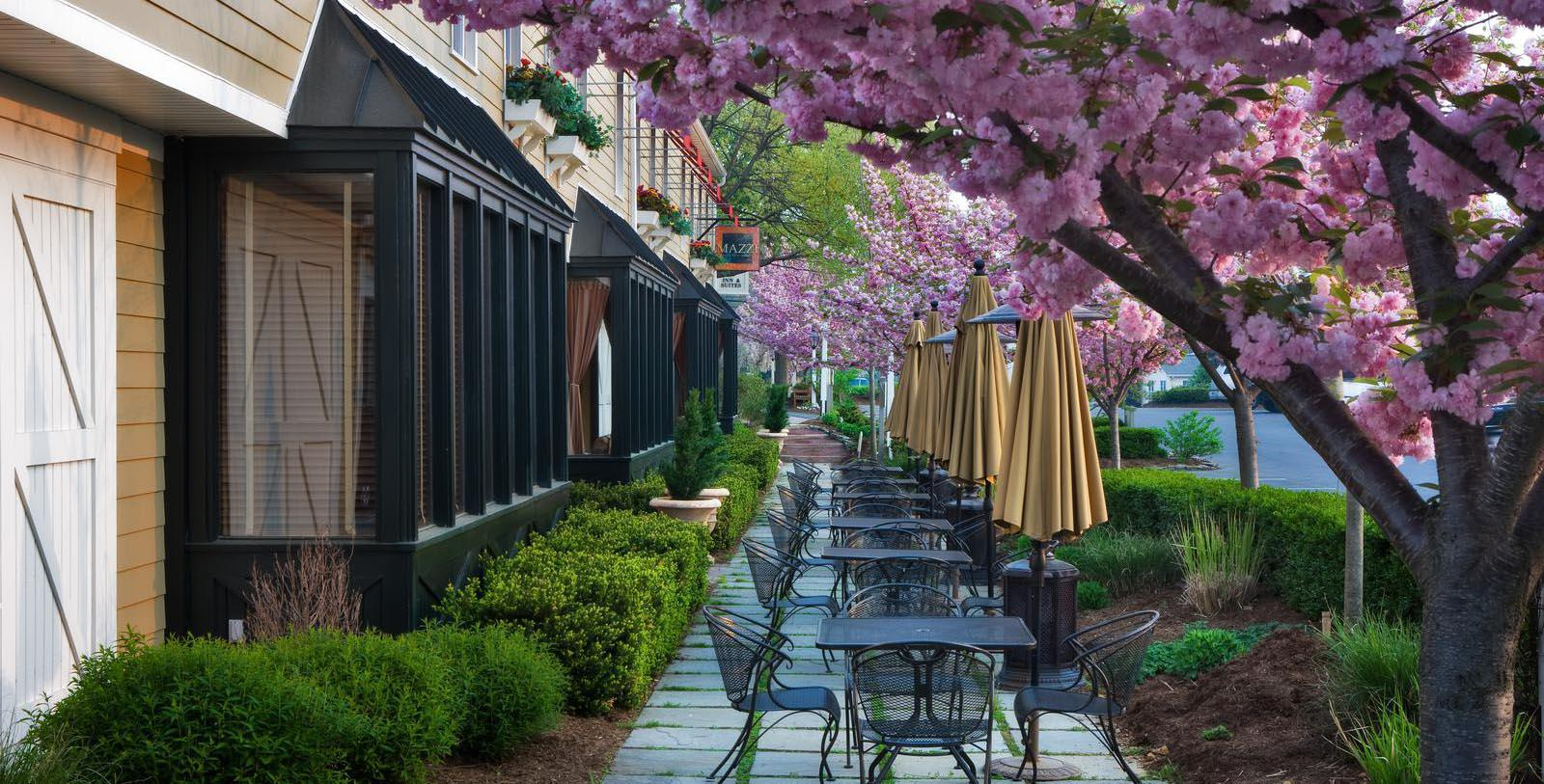 Image of Outdoor Dining Area The Inn at Leola Village, Est. 1867, 1867, Member of Historic Hotels of America, in Leola, Pennsylvania, Explore