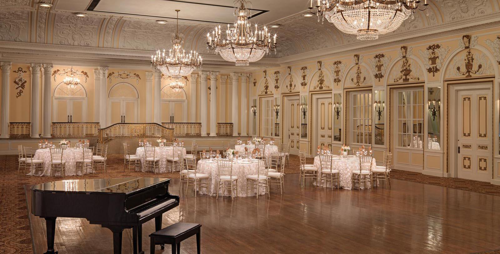 Image of Continental Ballroom at The Peabody Memphis, 1869, Member of Historic Hotels of America, in Memphis, Tennessee, Special Occasions