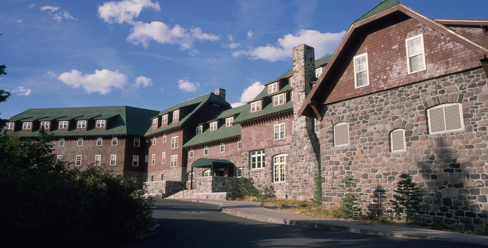 Image of hotel exterior at Crater Lake Lodge, 1915, Member of Historic Hotels of America, White City, Oregon, Hot Deals