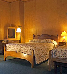 Accommodations:      The Chateau at Oregon Caves  in Cave Junction
