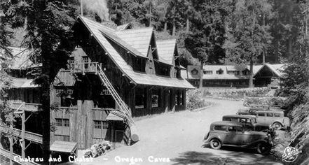 History:      The Chateau at Oregon Caves  in Cave Junction