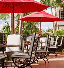 Dining at      Casa Claridge's at Faena Miami Beach  in Miami Beach