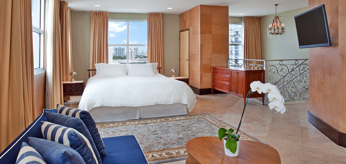 Accommodations:      The Raleigh Miami Beach  in Miami Beach