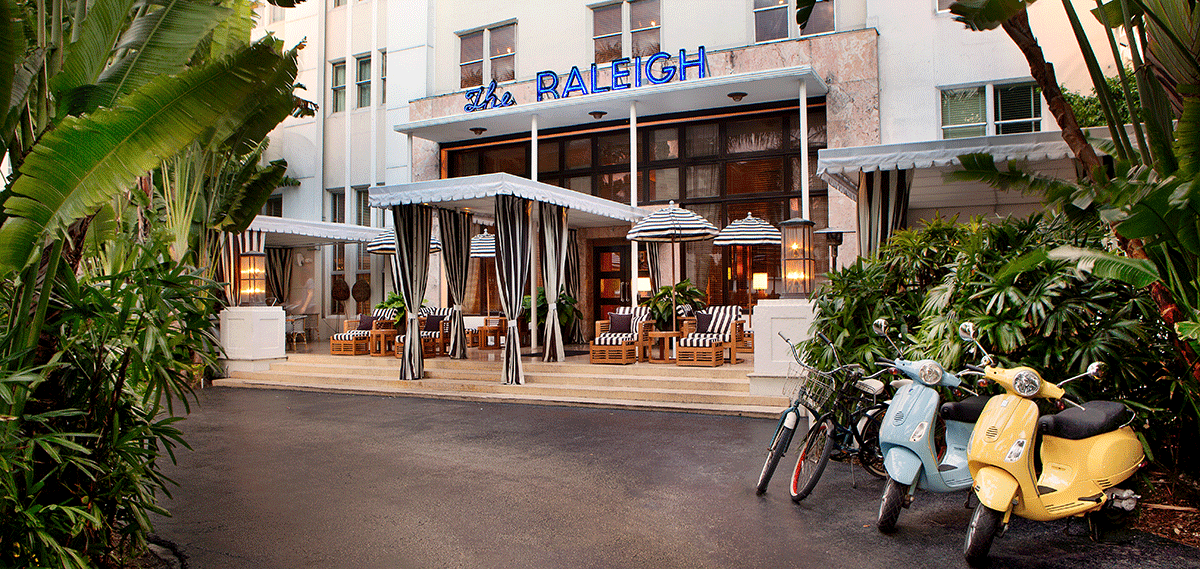 Hotels in miami florida the raleigh miami beach hotel for Raleigh hotel miami restaurant
