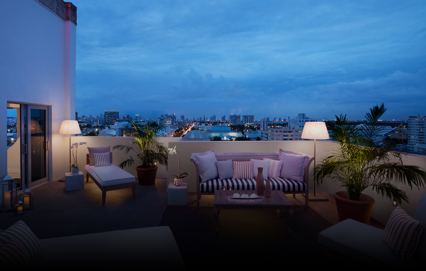 Accommodations:      SLS South Beach  in Miami Beach