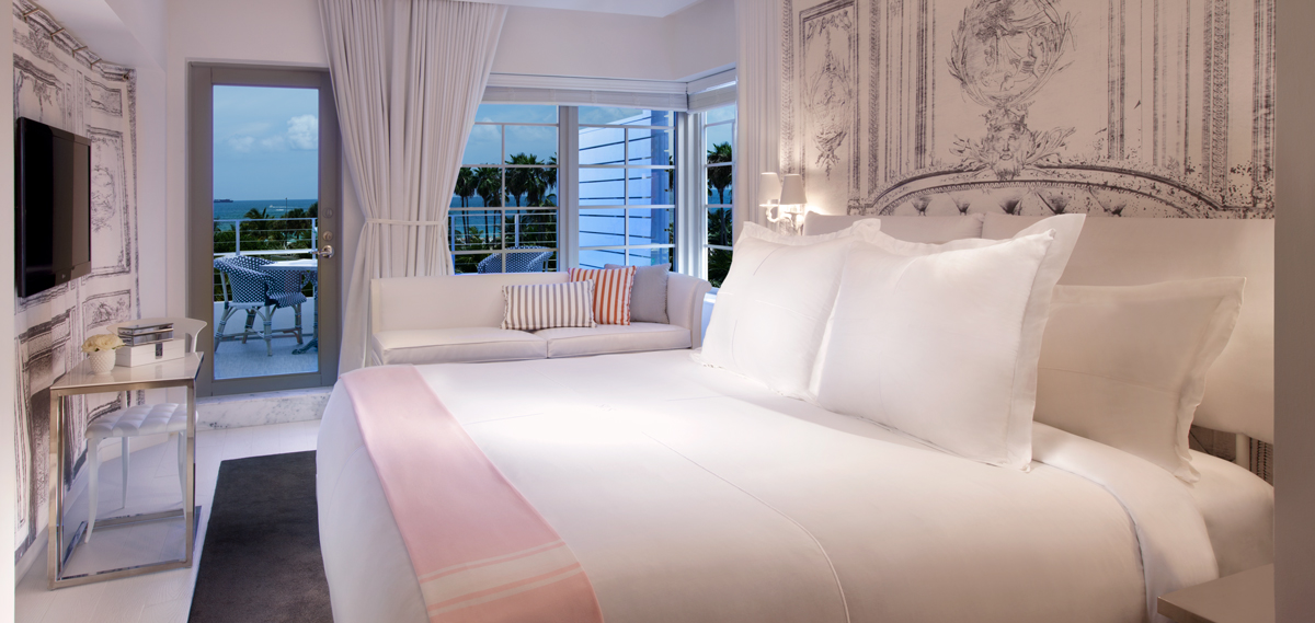 SLS SOUTH BEACH Miami Beach, Florida, Ocean View King Suite