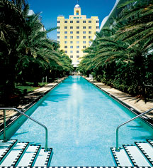 Spa:      The National Hotel  in Miami Beach