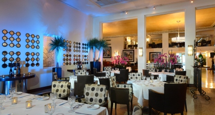 Dining at      The National Hotel  in Miami Beach