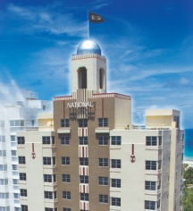 Venues & Services:      The National Hotel  in Miami Beach