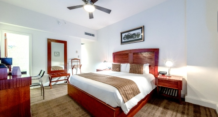 Accommodations:      The National Hotel  in Miami Beach